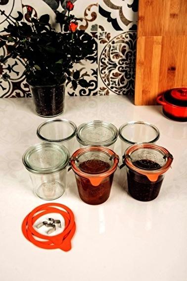 Weck 290 ml Mold Uzun Kavanoz Set (6 Adet) 900 Renksiz